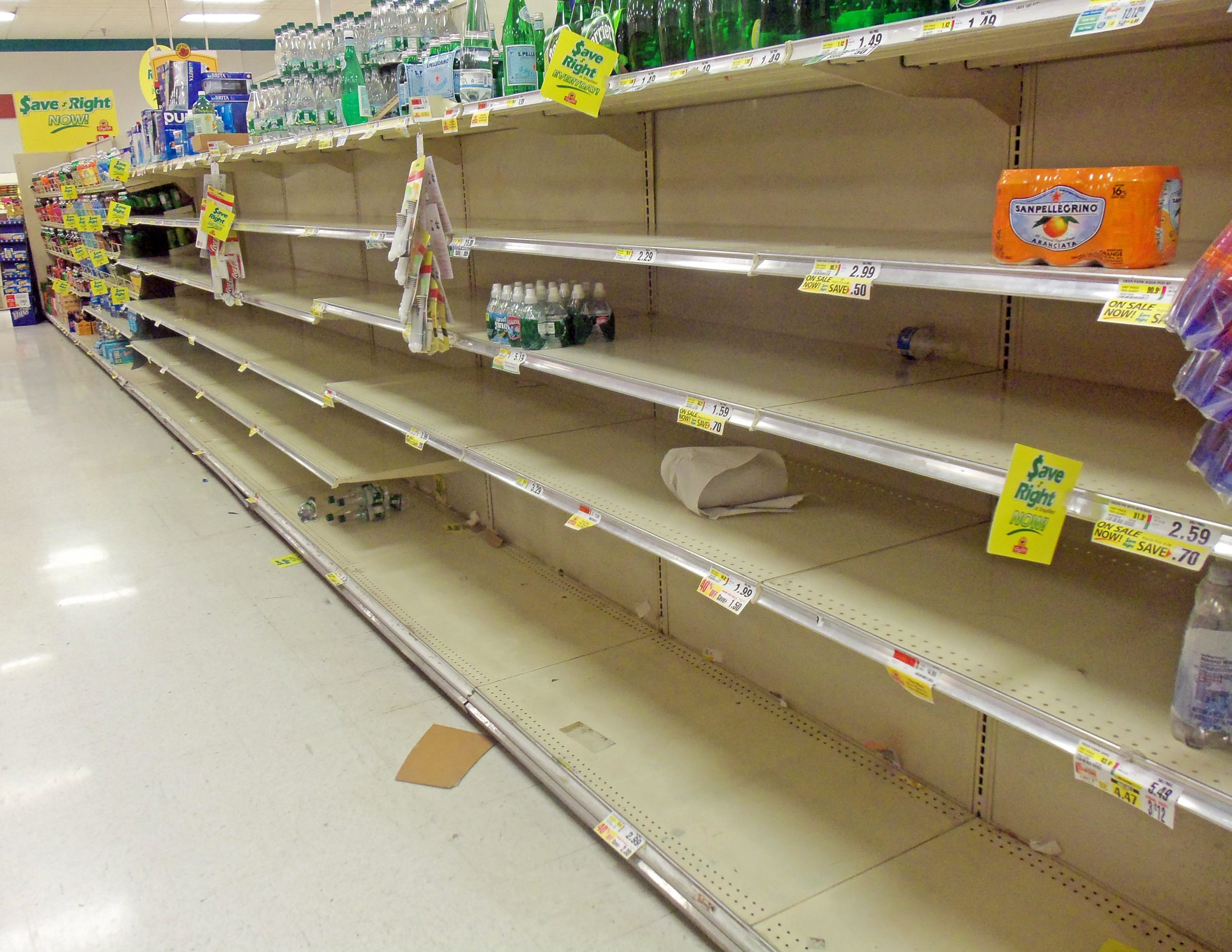 calculer rupture supermarché rayon merchandising