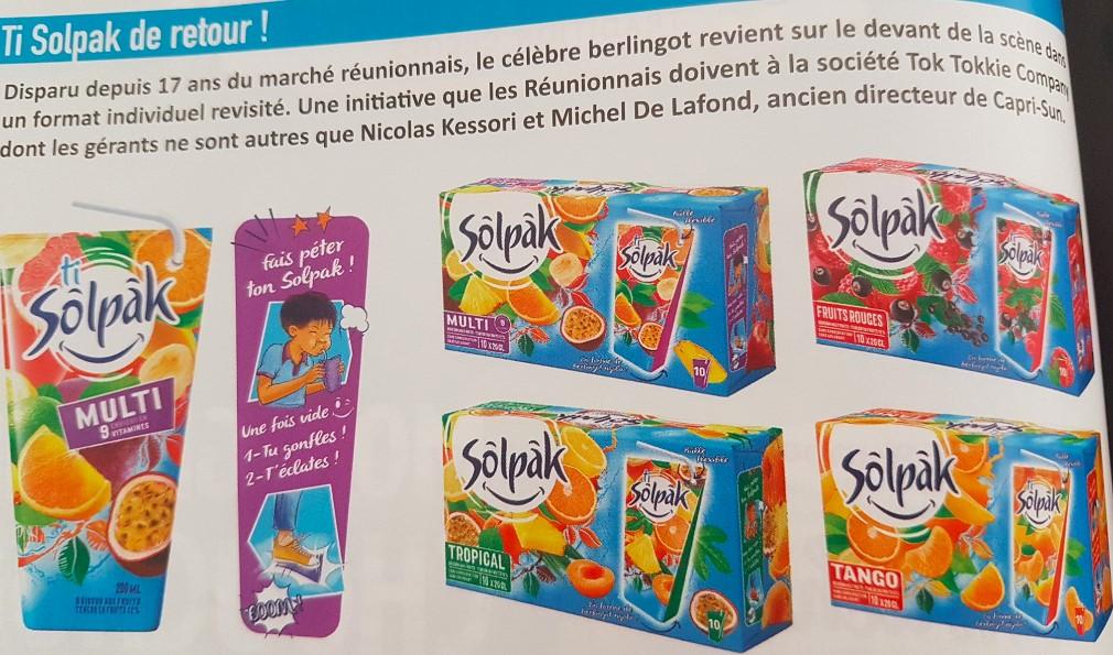Etude de cas merchandising solpak La Réunion marque